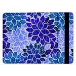 Azurite Blue Flowers Samsung Galaxy Tab Pro 12.2  Flip Case