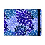 Azurite Blue Flowers iPad Mini 2 Flip Cases