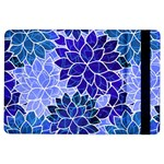 Azurite Blue Flowers iPad Air Flip