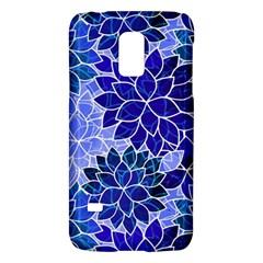 Azurite Blue Flowers Galaxy S5 Mini by KirstenStar