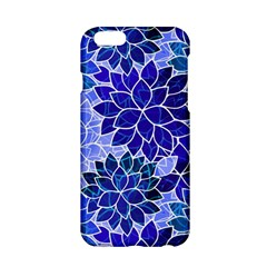 Azurite Blue Flowers Apple iPhone 6/6S Hardshell Case by KirstenStar