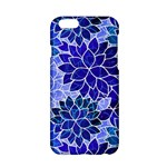 Azurite Blue Flowers Apple iPhone 6/6S Hardshell Case