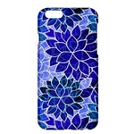 Azurite Blue Flowers Apple iPhone 6 Plus/6S Plus Hardshell Case