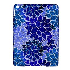 Azurite Blue Flowers iPad Air 2 Hardshell Cases by KirstenStar