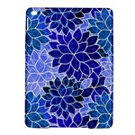 Azurite Blue Flowers iPad Air 2 Hardshell Cases