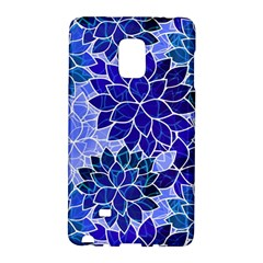 Azurite Blue Flowers Galaxy Note Edge