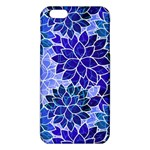 Azurite Blue Flowers iPhone 6 Plus/6S Plus TPU Case