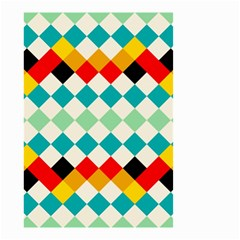 Rhombus Pattern                                                              Small Garden Flag by LalyLauraFLM