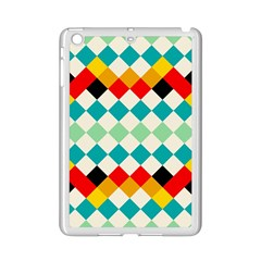 Rhombus Pattern                                                              			apple Ipad Mini 2 Case (white) by LalyLauraFLM