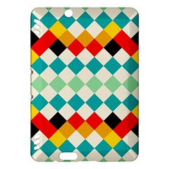 Rhombus pattern                                                              			Kindle Fire HDX Hardshell Case by LalyLauraFLM
