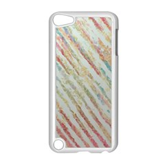Diagonal Stripes Painting                                                               			apple Ipod Touch 5 Case (white) by LalyLauraFLM