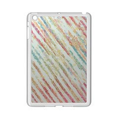 Diagonal Stripes Painting                                                               			apple Ipad Mini 2 Case (white) by LalyLauraFLM