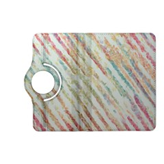 Diagonal Stripes Painting                                                               kindle Fire Hd (2013) Flip 360 Case by LalyLauraFLM