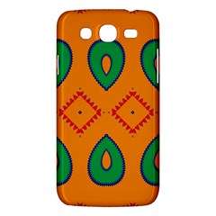 Rhombus And Leaves                                                                			samsung Galaxy Mega 5 8 I9152 Hardshell Case by LalyLauraFLM