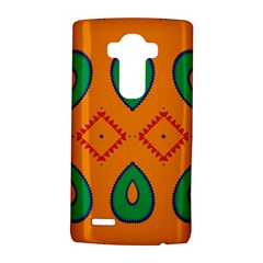 Rhombus And Leaves                                                                			lg G4 Hardshell Case by LalyLauraFLM