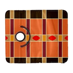 Shapes And Stripes                                                                 			samsung Galaxy S Iii Flip 360 Case