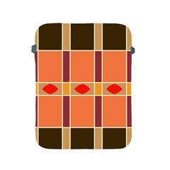 Shapes And Stripes                                                                 			apple Ipad 2/3/4 Protective Soft Case by LalyLauraFLM