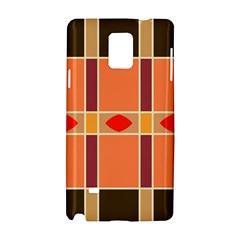 Shapes and stripes                                                                 Samsung Galaxy Note 4 Hardshell Case by LalyLauraFLM