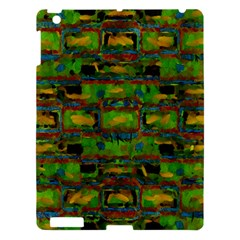 Paint Bricks                                                                 			apple Ipad 3/4 Hardshell Case by LalyLauraFLM