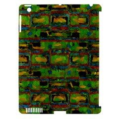 Paint Bricks                                                                 			apple Ipad 3/4 Hardshell Case (compatible With Smart Cover) by LalyLauraFLM