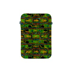 Paint Bricks                                                                 			apple Ipad Mini Protective Soft Case by LalyLauraFLM