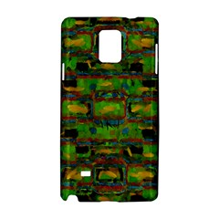 Paint Bricks                                                                 			samsung Galaxy Note 4 Hardshell Case by LalyLauraFLM