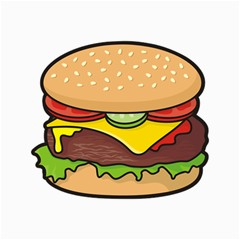Cheeseburger Canvas 12  X 16   by sifis