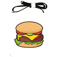 Cheeseburger Shoulder Sling Bags by sifis