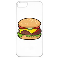 Cheeseburger Apple Iphone 5 Classic Hardshell Case by sifis