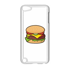 Cheeseburger Apple Ipod Touch 5 Case (white) by sifis