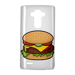 Cheeseburger LG G4 Hardshell Case by sifis