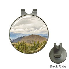 Ecuadorian Landscape At Chimborazo Province Hat Clips With Golf Markers by dflcprints