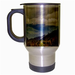 Ecuadorian Landscape At Chimborazo Province Travel Mug (Silver Gray) by dflcprints