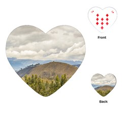 Ecuadorian Landscape At Chimborazo Province Playing Cards (heart)  by dflcprints
