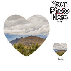 Ecuadorian Landscape At Chimborazo Province Multi Purpose Cards (heart)  by dflcprints