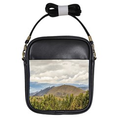 Ecuadorian Landscape At Chimborazo Province Girls Sling Bags by dflcprints