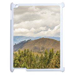 Ecuadorian Landscape At Chimborazo Province Apple Ipad 2 Case (white) by dflcprints