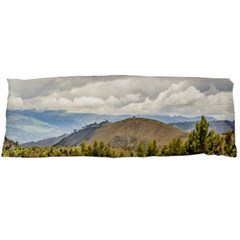 Ecuadorian Landscape At Chimborazo Province Body Pillow Case (dakimakura) by dflcprints