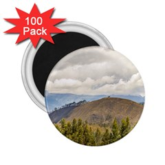 Ecuadorian Landscape At Chimborazo Province 2 25  Magnets (100 Pack)  by dflcprints