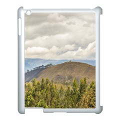 Ecuadorian Landscape At Chimborazo Province Apple Ipad 3/4 Case (white) by dflcprints
