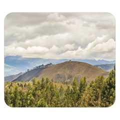 Ecuadorian Landscape At Chimborazo Province Double Sided Flano Blanket (small)  by dflcprints