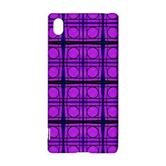 Bright Pink Mod Circles Sony Xperia Z3+ by BrightVibesDesign