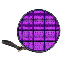 Bright Pink Mod Circles Classic 20 Cd Wallets by BrightVibesDesign