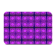 Bright Pink Mod Circles Plate Mats by BrightVibesDesign