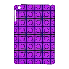 Bright Pink Mod Circles Apple Ipad Mini Hardshell Case (compatible With Smart Cover) by BrightVibesDesign