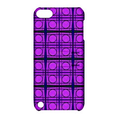 Bright Pink Mod Circles Apple Ipod Touch 5 Hardshell Case With Stand by BrightVibesDesign
