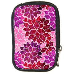 Rose Quartz Flowers Compact Camera Cases by KirstenStar