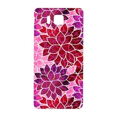 Rose Quartz Flowers Samsung Galaxy Alpha Hardshell Back Case by KirstenStar