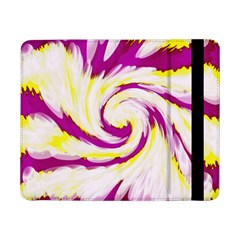 Tie Dye Pink Yellow Abstract Swirl Samsung Galaxy Tab Pro 8.4  Flip Case by BrightVibesDesign
