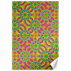 Modern Colorful Geometric Canvas 20  X 30   by dflcprints